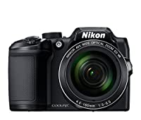 "Nikon COOLPIX B500 Digital Camera (Black) + 64GB UHS-I SDXC Memory Card (Class 10) + Flexible 12"" Tripod + Small Soft Carrying Case + HDMI Cable + Card Reader + DigitalAndMore Bundle from Nikon"