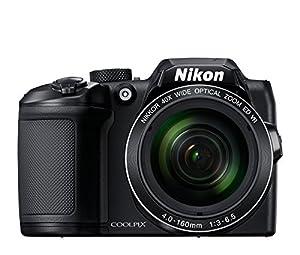 "Nikon COOLPIX B500 Digital Camera (Black) + 64GB UHS-I SDXC Memory Card (Class 10) + Flexible 12"" Tripod + Small Soft Carrying Case + HDMI Cable + Card Reader + DigitalAndMore Bundle from Nikon"