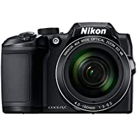 Nikon Coolpix B500 16MP Point and Shoot Digital Camera with 40x Optical Zoom (Black) + HDMI Cable + 16 GB SD Card + Carry Case