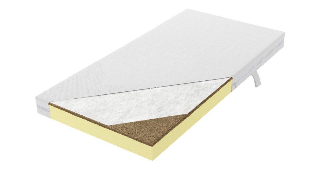 Foam - Coconut Fibre Mattress 10 cm 140x70 160x70 160x80 180x80 180x90 200x90 (140 x 70 cm) Beds For Kids