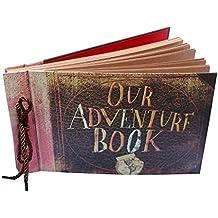 GnD Our Adventure Book Pixar Up Handmade DIY Family Scrapbook Photo Album