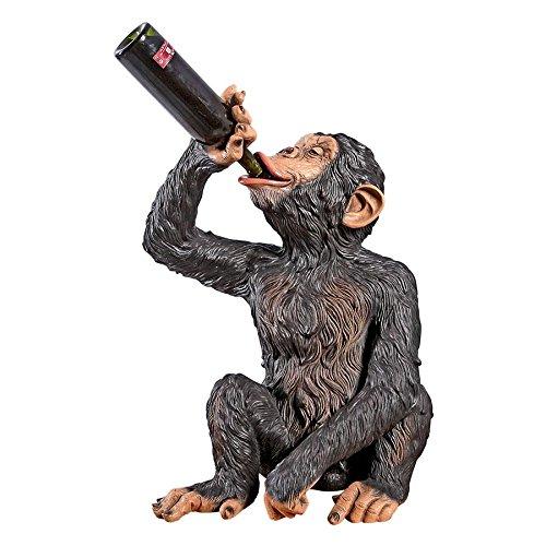 Madison Collection Anisetta Liquore Drinking Monkey Statue