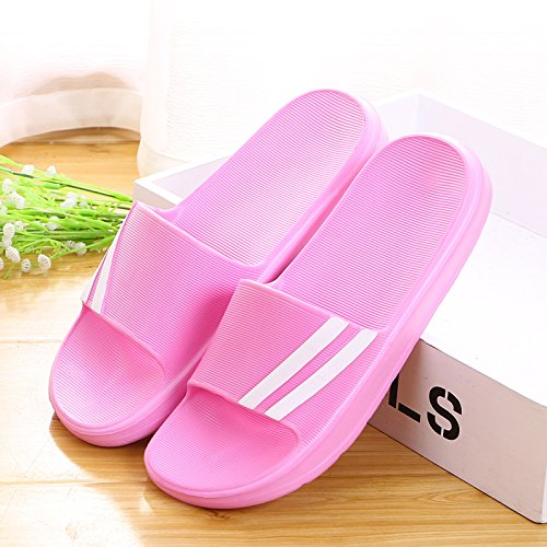 antiskid 39 Indoor Indoor antiskid Pink slippers qnY8YTz