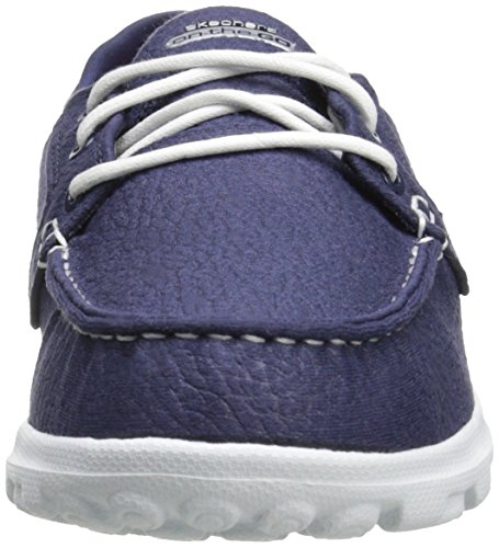 Skechers Prestanda Womens On-the-go Flaggskepp Slip-on Båt Sko Marinen
