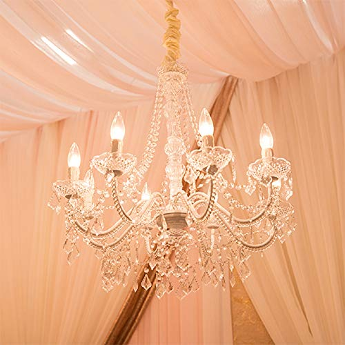 Eight Arm Chandelier - Event Decor Direct 8-Arm Royal Queen Crystal Chandelier