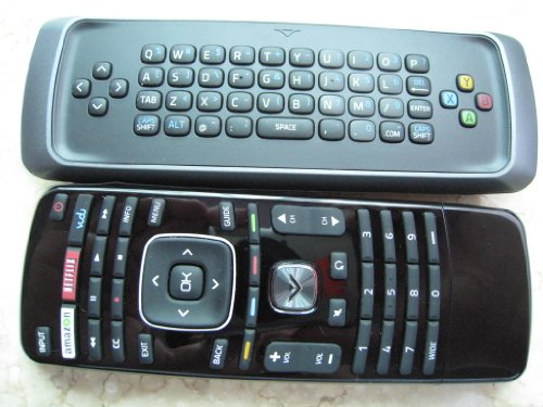 (New Vizio Qwerty dual side keyboard internet smart tv remote---for VIZIO E420i-A1 E500i-A1 E601i-A3 E470i-A0 M420KD E701i-A3 E420i-A0 E500i-A0 ----30 days warranty!)