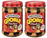 Smucker's Goober Strawberry (18 oz Jars) 2 Pack