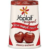Yoplait Original Yogurt, Cherry Orchard, Low Fat Yogurt, 6 oz