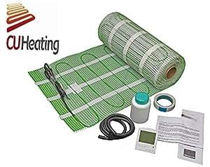 Calefacci n por suelo radiante el ctrico 1m2 160w m2 for Suelo radiante electrico precio m2