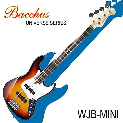 バッカスのミニジャズベース|Bacchus UNIVERSE Series WJB-mini 3TS / 初心者や女性、ギタリストにも!! (3TS/3トーンサンバースト)  3TS/3トーンサンバースト B00V05SKLA