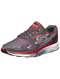 Go Run Forza Mens Running Shoes - Charcoal/Red