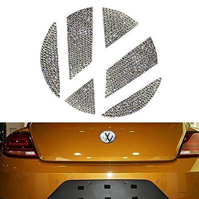 YaaGoo VW Outside Emblem Crystal Sticker for VW Beetles (2013-2020 Rear): Automotive