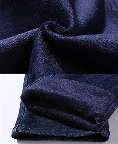 Pantalons Taille Larges Gqsuvmzp Bleu Pour Yojdtd Grande Hommes Jeans clF1TJK3