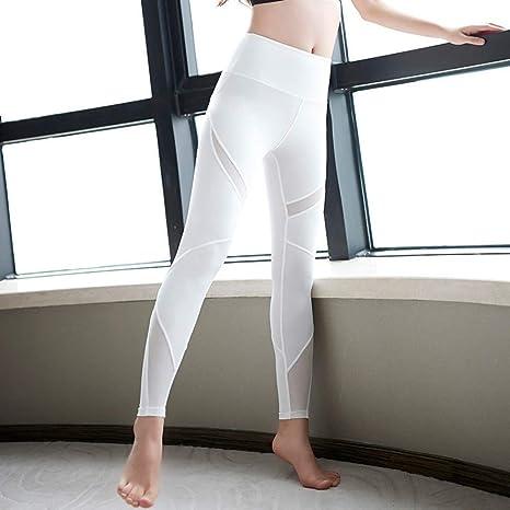 fitness completo sportivo da donna yoga CrisKat- Tuta da donna leggins per running pantaloni sportivi da donna a vita alta