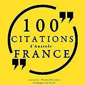 100 citations d'Anatole France | Anatole France