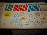 Milton Bradley 1963 The Match Game TV Show Second Edition 2nd - Complete