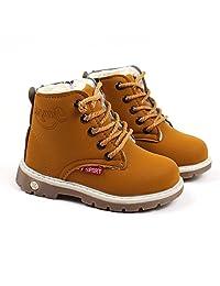 Sinzelimin Children Fashion Boys Girls 1-6 Years Old Sneaker Boots Kids Baby Casua
