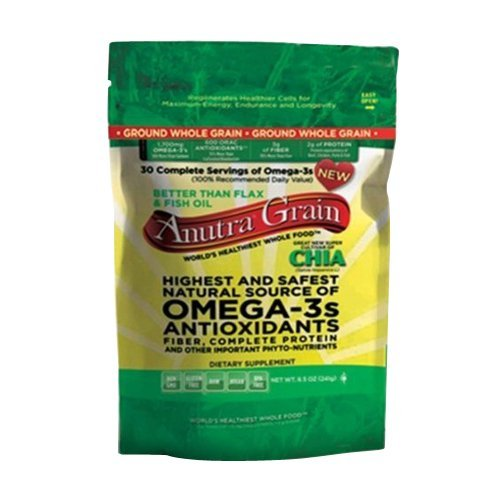 Anutra Omega 3S Ground Whole Grain, 8.5 Ounce by Anutra
