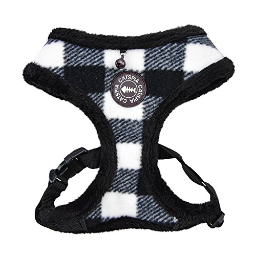 Fleece Harness (CATSPIA FIGARO HARNESS A - BLACK - M)