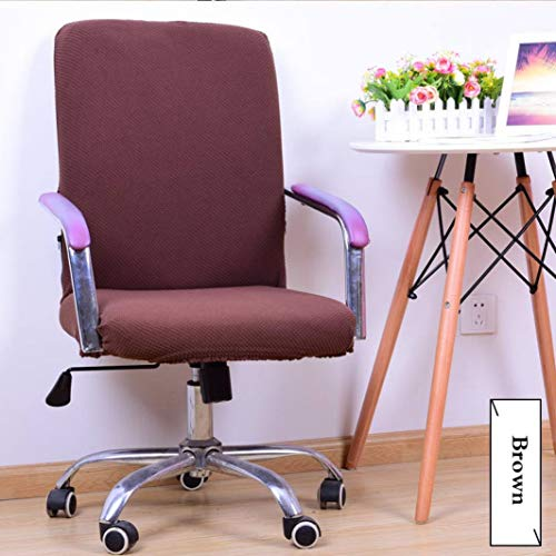 Fashion Designs Chair Covers Elastic Computer Office Arm Seat Case for Office Computer Chairs Dust Protector
