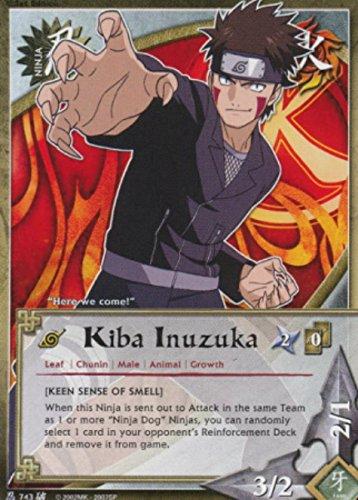 Naruto Card - Kiba Inuzuka 743 - Broken Promise - Common - 1st ()