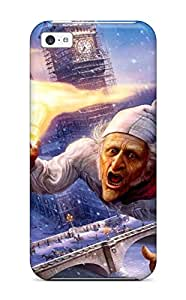 Iphone 5c Case, Premium Protective Case With Awesome Look - A Christmas Carol Movie People Movie