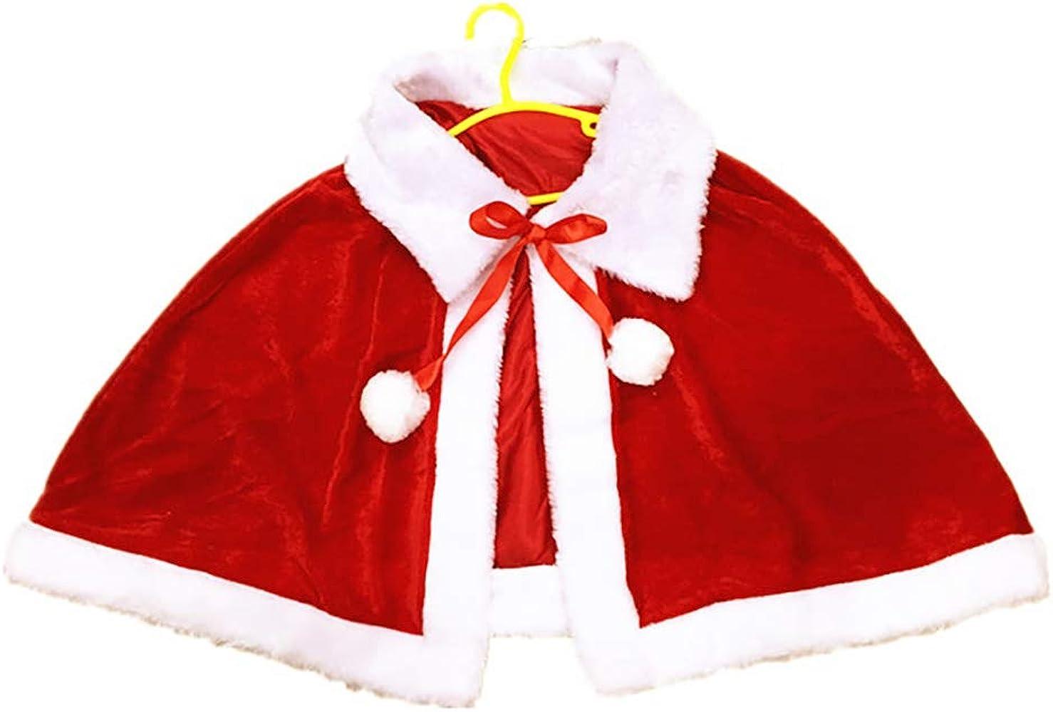 BONNIO Disfraz de Navidad para Mujer Disfraz de Disfraces Capa del ...