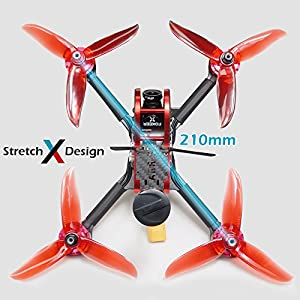 """ARRIS X210S 210MM 5"""" RC Quadcopter FPV Racing Drone RTF W/Radiolink AT9S Transmitter + Flycolor 4-in-1 Tower + Foxeer Arrow Mini Pro Camera + VT5804 V2 VTX by Hobby-wing"""