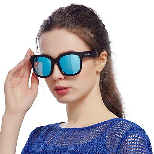 Femme Soleil Lunette Bleu De D'amour Jardin qSI7fx