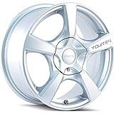 "Touren TR9 3190 Wheel with Hyper Silver Finish (18x8""/5x114.3mm)"