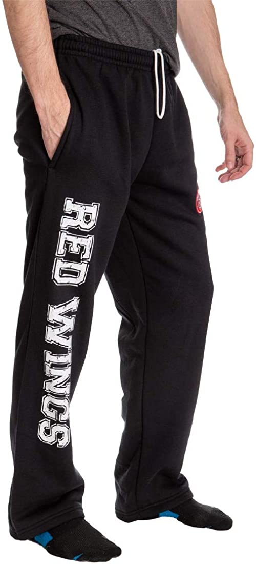 NHL Mens Premium Fleece Official Team Sweatpants