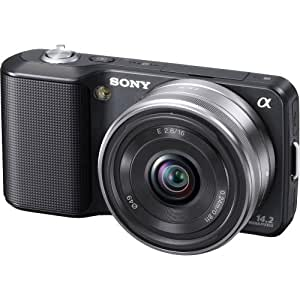 Sony Alpha NEX NEX3A/B Digital Camera with Interchangeable Lens (Black)