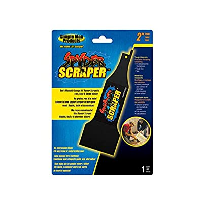 Spyder Scraper Reciprocating Blade from Sm Products Llc