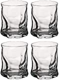 Bormioli Rocco Sorgente Whisky Tumbler Glasses - 420ml (15oz) - Set of 4