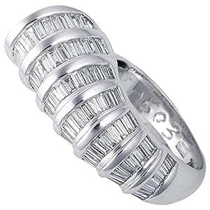 Verona Women's 18K Pure Gold Diamond Ring - 6.0