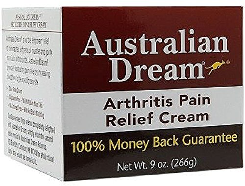 Australian Dream Arthritis Pain Relief Cream 9 oz (Pack of 3) by Australian Dream