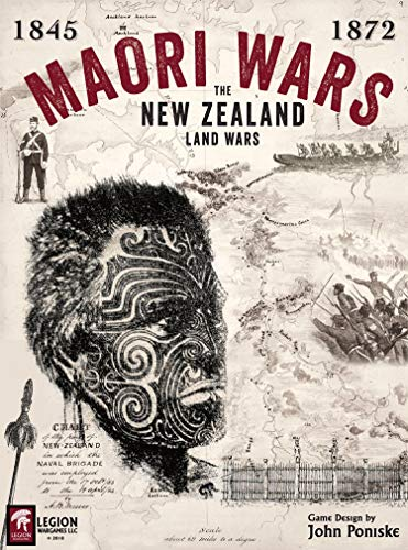 Leg: Maori Wars, The New Zealand Land Wars -