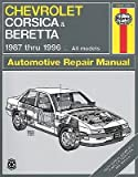 [(Chevrolet Corsica and Beretta (1987-1996) Automotive Repair Manual)] [Author: Jon Lacourse] published on (October, 1996)