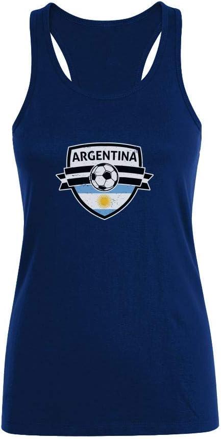 Camiseta sin Mangas para Mujer - Aficionados a la Selección Argentina Mundial 2018: Amazon.es: Ropa y accesorios