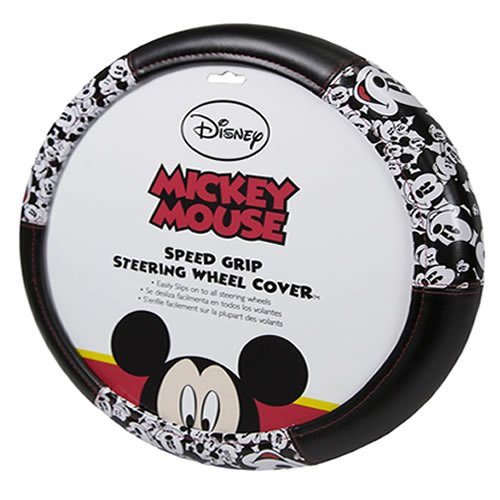 (Plasticolor 006735R01 Mickey Mouse Expressions Steering Wheel)