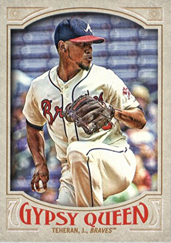 2016 Topps Gypsy Queen Baseball #211 Julio Teheran Atlanta Braves