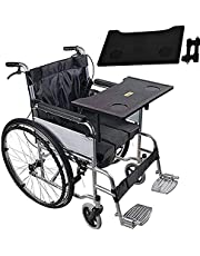 Wheelchair Tray - Universal Wheelchair Table Accessories for Eating,Reading & Resting - Detachable Wheelchair Lap Desk with Cup Holder