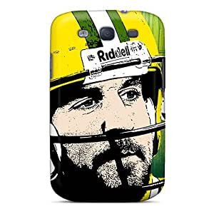 Galaxy S3 EJV2823YWJj Green Bay Packers Tpu Silicone Gel Case Cover. Fits Galaxy S3