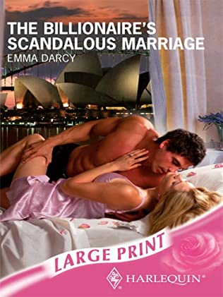 book cover of The Billionaire\'s Scandalous Marriage