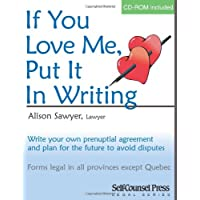 If You Love Me Put It In Writing: Write Your Own Prenuptial Agreement
