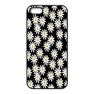 Case For Ipod Touch 4 Cover Case, Daisy Case For Ipod Touch 4 Cover {Black}