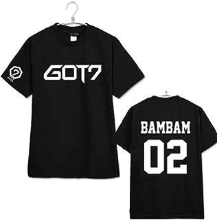mainlead Unisex GOT7 T-Shirt Bambam Mark Jackson Youngjae Tee
