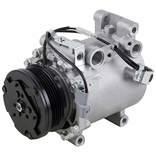 AC Compressor & A/C Clutch For Mitsubishi Eclipse Galant Lancer Mirage Dodge Stratus Chrysler Sebring Coupe 4-Cyl - BuyAutoParts 60-01403NA NEW