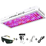 KINGPLUS 2000W Double Chips LED Grow Light Full Spectrum for Greenhouse and Indoor Plant Flowering Growing (10w LEDs)