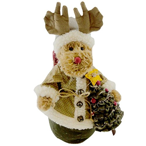 Boyds Bears Moose-Milford Moosel Kringle-Klaus Xmas 2010 #4019138